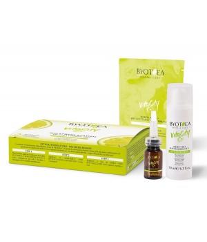 3-х ступенчатый уход для лица с витамином С Byotea VitaCity C+ Kit Pure Energy Face
