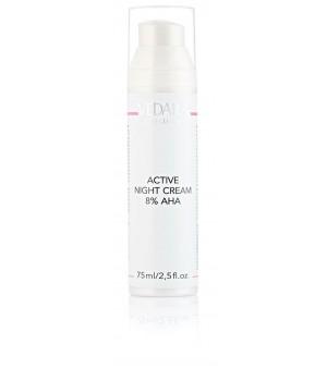 Активный ночной крем с AHA кислотами 8% Active Night Cream AHA 8%