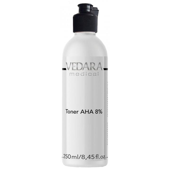 Тоник на основе АНА кислот 8%