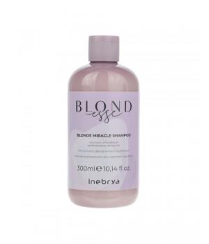 Шампунь для оттенков блонд Inebrya Blondesse Blonde Miracle Shampoo