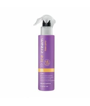 Разглаживающий спрей для волос 15 в 1 Inebrya Ice Cream Liss Perfect Liss One 15 in 1