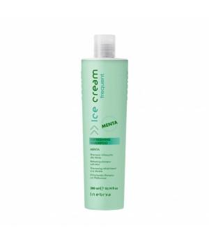 Шампунь для всех типов волос с ментолом Inebrya Ice Cream Refreshing Shampoo