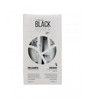 Набор для поврежденных волос Inebrya Black Pepper Kit