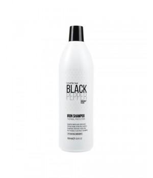 Укрепляющий шампунь для поврежденных волос Inebrya Black Pepper Iron Shampoo