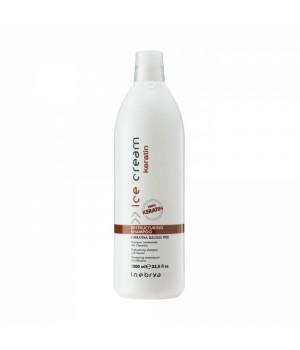 Реструктурирующий шампунь с кератином Inebrya Ice Cream Keratin Restructuring Shampoo